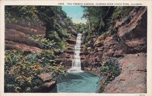 Illinois Starved Rock The French Canyon Starved Rock State Park