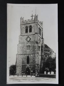 Essex: Waltham Abbey c1950's Old RP Postcard by Bell's Photo Co