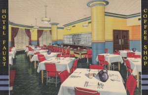 ROCKFORD , Illinois , 1930-40s ; Hotel Faust , Coffee Shop