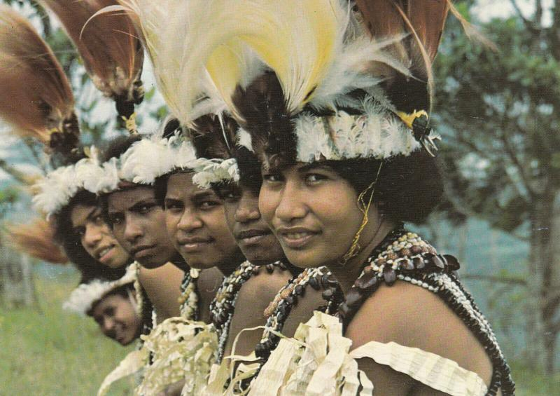CENTRAL PROVINCE, Papua New Guinea, 40-60s; Badili Vocational Students