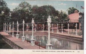 Pennsylvania Scranton The Lagoon and Merry-Go-Round Luna Park