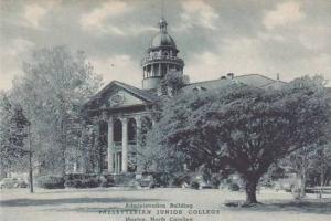 North Carolina Maxton Administration Building Presbyterian Junior College Alb...