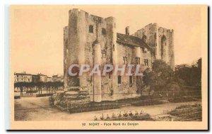Old Postcard Niort facade North Dungeon