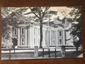 Recitation Hall, Wheaton Seminary, Norton, Massachusetts MA D13