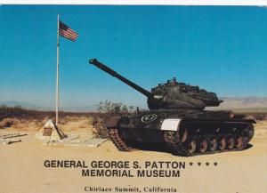 CHIRIACO SUMMIT, California; General George S. Patton Memorial Museum, Tank d...