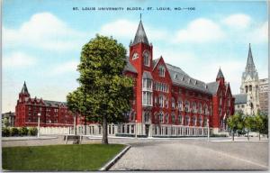 St. Louis MIssouri - St. Louis University buildings