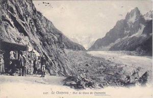 Le Chapeau- Mer De Glace De Chamonix (Haute Savoie), France, PU-1910