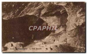 Old Postcard Cave of Remouchamps La Salle d & # 39Entree