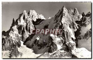 Old Postcard Chaos d & # 39Aiguilles the Country of Mont Blanc