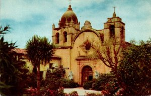 California Carmel San Carlos Mission Union 76 Card
