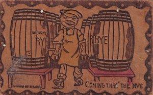 KENTUCKY, PU-1907; Leather, Coming thro' the Rye, Kegs