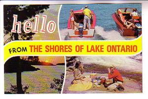 Fourview, Lake Ontario, Speed Boats, Picnic, Ernest Gunzburger