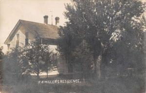 Spofford New Hampshire outside C.J. Miller's residence real photo pc Z21436