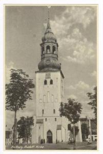 Aalborg. Budolfi Kirken Denmark 1910-30s