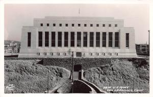 New U.S. Mint, San Francisco, California, Early Real Photo Postcard, Unused