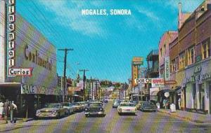 Mexico Sonora Nogales Abregon Street
