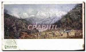 Postcard Old Mountain Advertisement Toothpaste Cressol