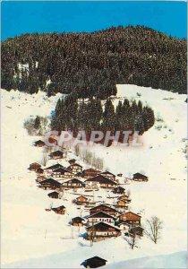 Postcard Modern Areches (Savoy) the class Boudin Village Village