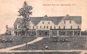 Cahoonzie Park Inn Sparrowbush, New York Postcard
