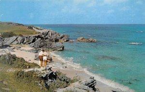 Warwick Beach Scene Warwick Bermuda Island Unused