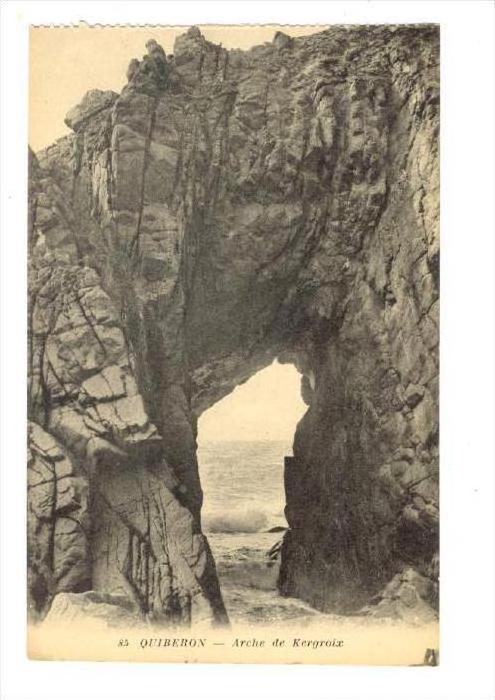 Arche De Kergroix, Quiberon (Morbihan), France, 1900-1910s
