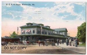 M.C.R.R. Station, Waterville Me