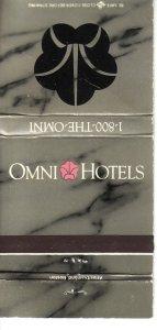 Matchbook Cover ! Omni Hotels !