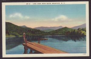 Lake Eden Near Black Mountain NC Postcard 4514