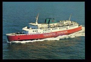 FE3598 - Townsend Thoresen Ferry - Viking Valiant class - postcard