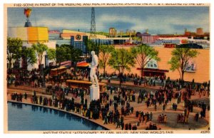New York  Worlds Fair 1939 ,   Aerial view of Medicine and Health Building
