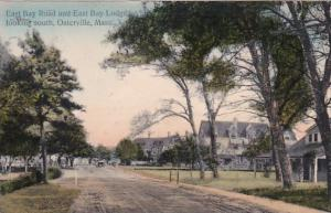 Massachusetts Osterville East Bay Road & East Bay Lodge Looking South 1911