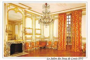 France Versailles Cabinets interieurs du Roi Salon des Jeux de Louis XVI