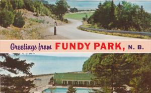 Canada New Brunswick Fundy National Park Greetings Fron Fundy Park