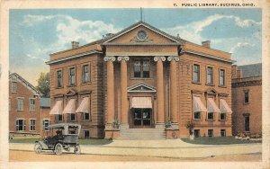 LP17  Bucyrus  Ohio Postcard Public Library