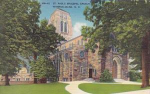 Saint Pauls Episcopal Church Winston Salem North Carolina