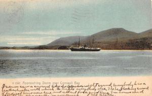 Cornwall Bay New York Waterfront Scene Antique Postcard K78367