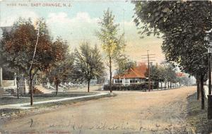 East Orange New Jersey~Hyde Park~Unpaved Street Scene~Homes~1907 Postcard