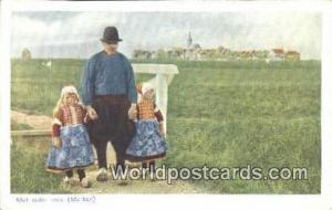 Marken Netherlands, Nederland Met vader mee  Met vader mee