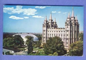 Salt Lake City, Utah/UT Postcard, Temple Square, Morman