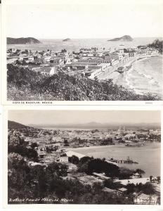 Mazatlan - Two B&W Views - Photo