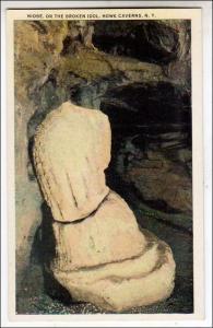 Niobe, Broken Idol, Howe Caverns NY