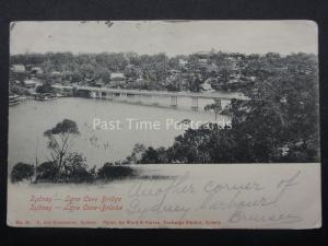 Australia SYDNEY Lane Cove Bridge c1903 UB by L. Von Koenneritz - Ward & Farran