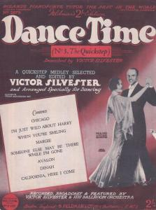 The Quickstep Dance Time Victor Sylvester 1930s Sheet Music