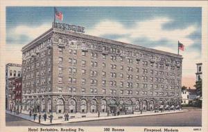Pennsylvania Reading Hotel Berkshire