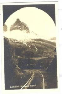 RP, Cathedral Mt. From Tunnel, Canada, 1920-1940s
