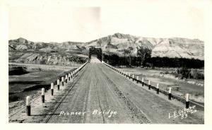 ND - Dunn County. Pioneer Bridge - *RPPC Referred to as Lost Bridge at Little...