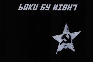 NEW Postcard, Soviet Baku USSR CCCP by Night, Humor, Novelty, Fun, Funny DN8