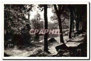 Old Postcard La Douce France Pont Aven Finistere Le Bois d'Amour