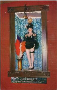 Julie Bulette Bonanza Virginia City Nevada NV Madam Unused Vintage Postcard F3
