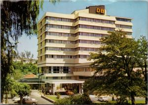 The Rutherford Hotel Nelson New Zealand Vintage Postcard D41 *As Is